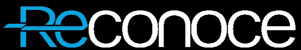 Logo de Reconoce, formado por letras