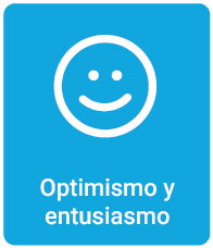 Optimismo y entusiasmo