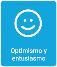Optimismo y entusiasmo