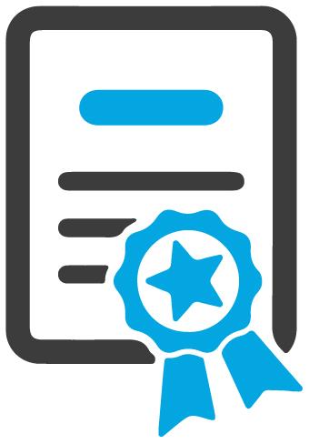 Infografía de un certificado